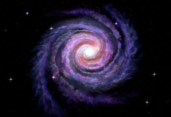 Kozyrev Spiegel Milchstraße