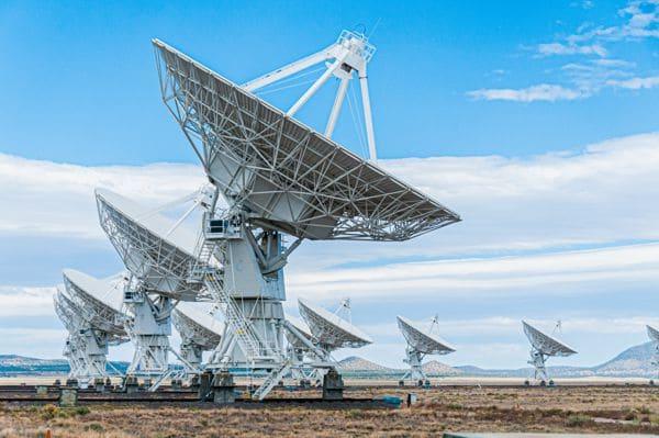 Kozyrev Spiegel Radioteleskop