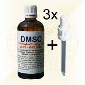 3x DMSO 100ml plus Pipette