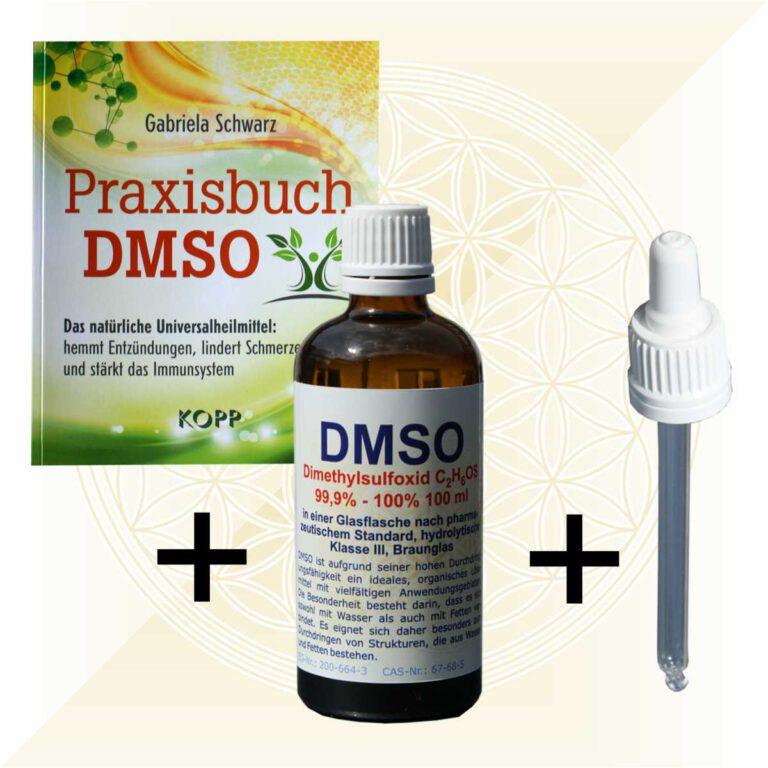 Praxisbuch DMSO und 100ml DMSO