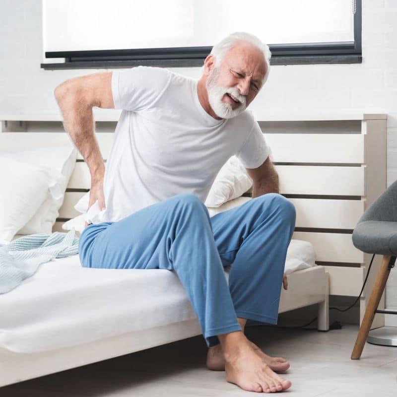 chronische Rückenschmerzen schnelle Hilfe